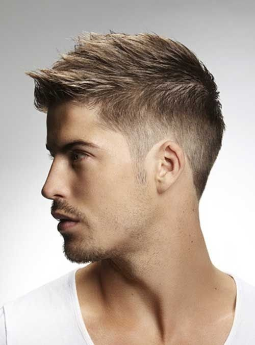 Old school mens haircut